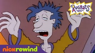 Tommy and Chuckie Think Stu is an Evil Robot | Rugrats | NickRewind