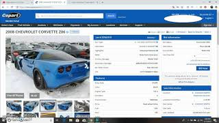 BUYING MY NEW BUILD ON COPART!!!