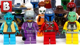 Every Lego Star Wars Bounty Hunter Ever Made!!! + Rare Original Greedo | Collection Review