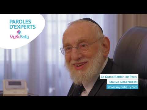 Le Grand Rabbin de Paris Michel GUGENHEIM   Divers