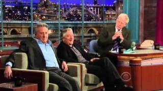 David Letterman -_- Robert Deniro & Dustin Hoffman - Part 2 - 2010.12.17