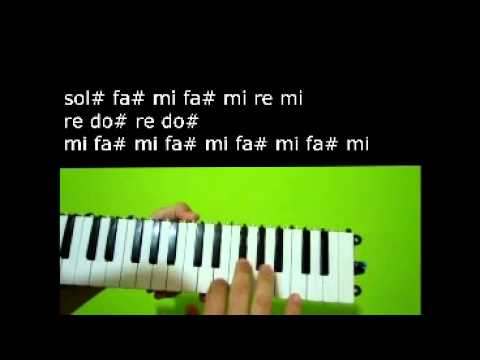 Is this Love - How to play the Melodica - Como tocar Escaleta