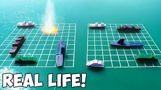 Playing Battleship With Real Ships