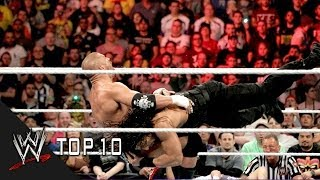 Roman Reigns' Greatest Spears - WWE Top 10
