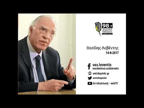 Β. Λεβέντης / Δημ. Ραδιόφωνο Ιωαννίνων / 14-8-2017