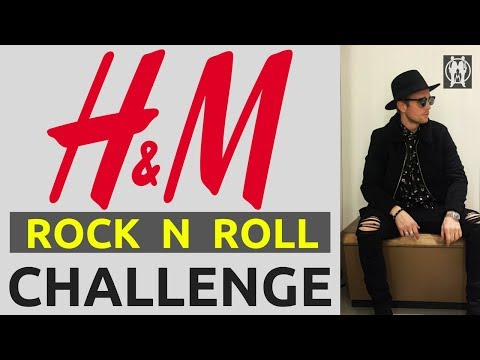 H&M Rock N Roll £150 Style Challenge 2018 | How To Dress Like A Rockstar On A Budget