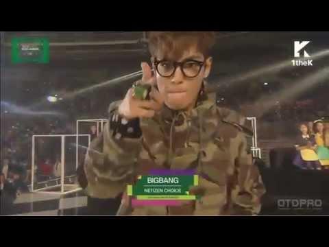 151107 MMA BIGBANG 네티즌 인기상 수상 소감 (자막 有)