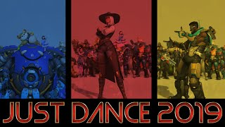 ❤ 2019 NEW DANCE EMOTES WITH MUSIC THAT SYNC (Mostly)   Overwatch Anniversary 2019 ❤