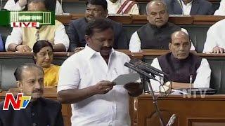 Pasunuri Dayakar takes oath as Parliamentarian; Winter Ses..