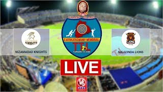 Nalgonda Lions vs Nizamabad Knights - TTL live..