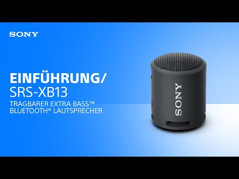 Tragbarer SRS-XB13 EXTRA BASS™ Bluetooth® Lautsprecher von Sony