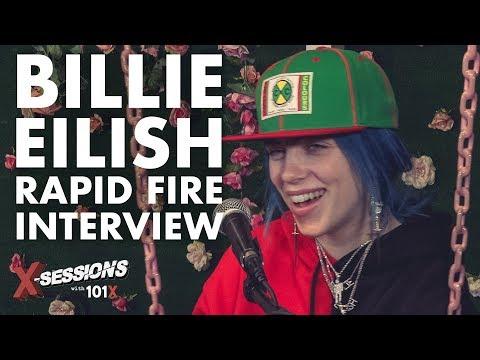 Billie Eilish: Rapid Fire [Interview] | 101X