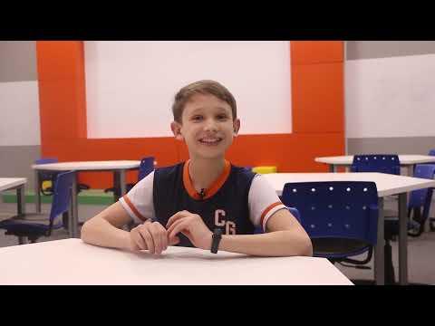 Gustavo Henrique Silveira, aluno do 6º ano