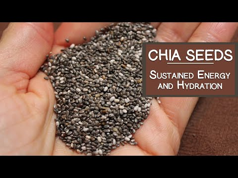 Chia Seeds for Sustained Energy and Hydration
