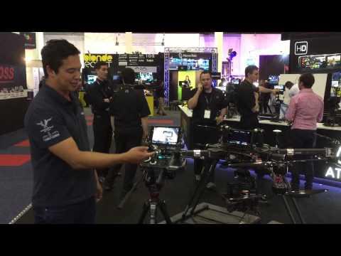 XM2 at SMPTE (Sydney) - Big drone