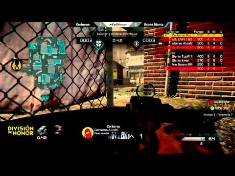 Ozone Giants vs Cerberus   Resumen Jornada 4 LVP CoD Honor Xbox One
