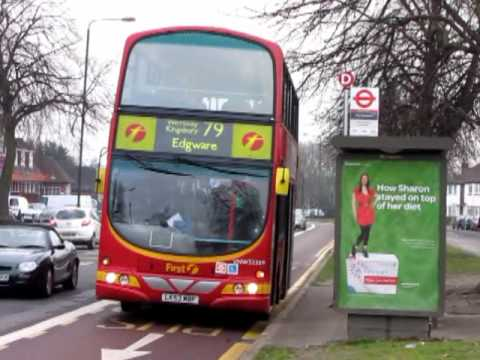 Route 79 London Buses In North West London 27 January 2010