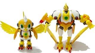 Robot siêu nhân biến hình Đại bàng nghiêm khắc - Robot bão tố
