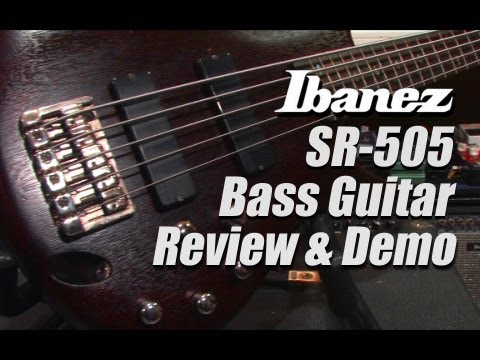 Ibanez SR505 Bass Guitar