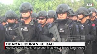 Obama Liburan ke Bali, Pengamanan Layak Tamu Negara