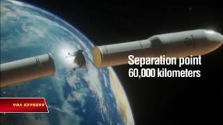 Israel đưa tàu lên mặt trăng bằng tên lửa SpaceX (VOA)