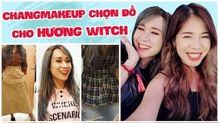 LẦN ĐẦU THỬ MẶC ĐỒ CHỊ CHANGMAKEUP CHỌN | SHOPPING IN SEOUL | HƯƠNG WITCH