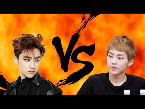 EXO Xiumin VS D.O (Part 1)