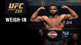 UFC 235: Weigh-in