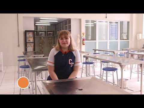 Sthefany Ferreira, aluna do 1º ano