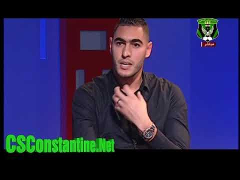 Abid Mohamed Amine invité de l'ENTV