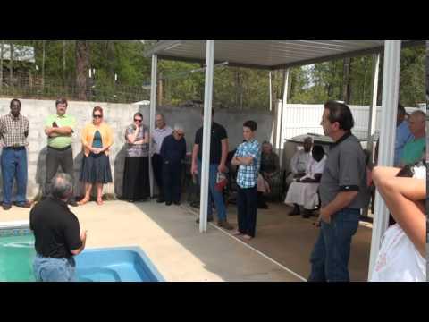 2014 April Baptism