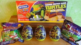 TMNT Ninja Turtles Surprise Eggs & Mystery Blind Bags Mashems Toys Mix Unboxing