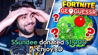 DONATING to STREAMERS for every *WRONG* Fortnite Answer!