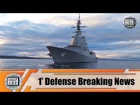 Australian Navy has commissioned on sea Air Warfare Destroyer HMAS Sydney V