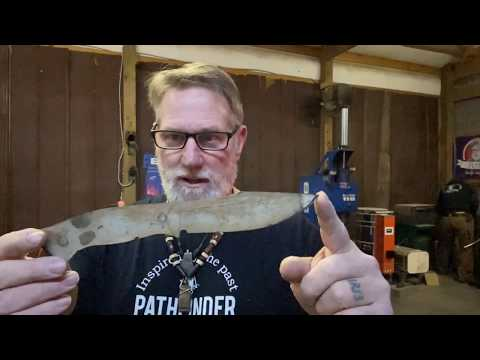 Learning from the Masters  Bladesmithing Part 1