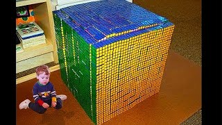 it took him 1 second to solve..