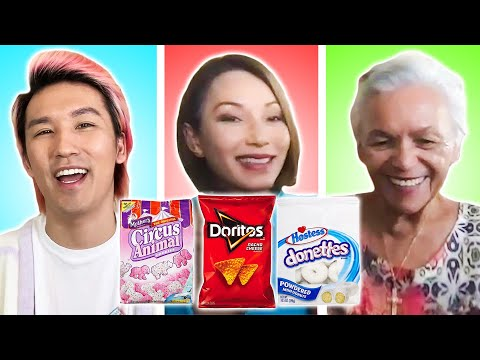 Three Generations Swap Their Favorite Snacks