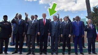 ¿Otro error de protocolo? Trump 'eclipsa' a Merkel sin querer en la foto del G7