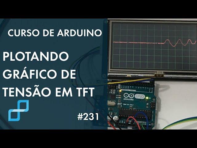 GRÁFICO DE LEITURA DE TENSÃO EM DISPLAY NEXTION | Curso de Arduino #231
