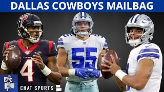 Cowboys Rumors: Dak Or Deshaun Watson? Stephon Gilmore Trade? Cut Tyron Smith? LVE Future? | Mailbag