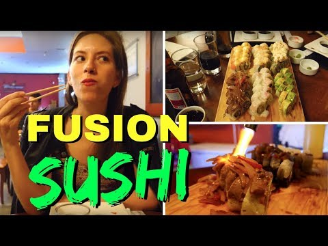 Nikkei Peruvian Food - All you can Eat Sushi Buffet in Lima, Peru