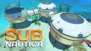 BUILDING MY BASE! Subnautica Episode 4