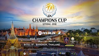 FIFA Online 3 : [ Day 2 ] EACC Spring 2018 - YouTube