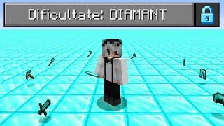 Bat Minecraft Pe O Lume Superflat Plina Cu Diamante!