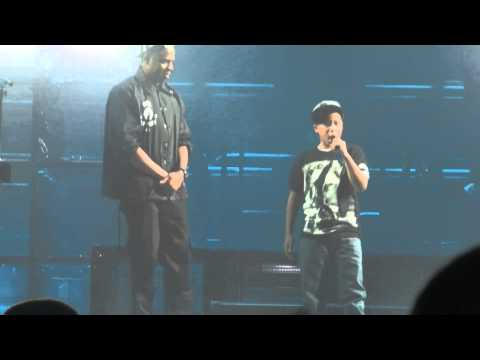JAY Z brings 12 year old on stage - Greensboro, NC (1080p)