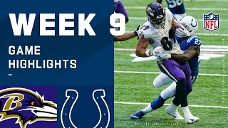 Ravens vs. Colts Week 9 Highlights | NFL 2020