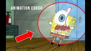 Animation Errors in SpongeBob SquarePants