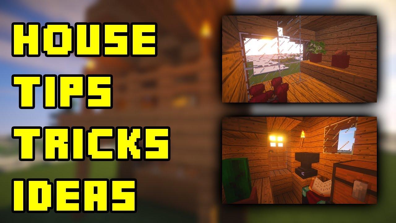 Minecraft Creative Tips Tricks: Minecraft: House Design Ideas/Tips/Tricks (Survival 5x5