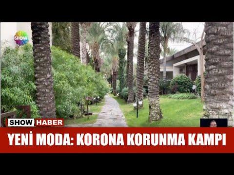 Yeni moda: Korona korunma kampı