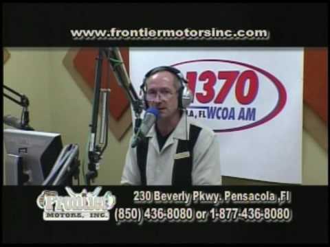 Frontier Motors TV Show April 23rd Pensacola Part Three